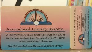 Arrowhead Library System Card